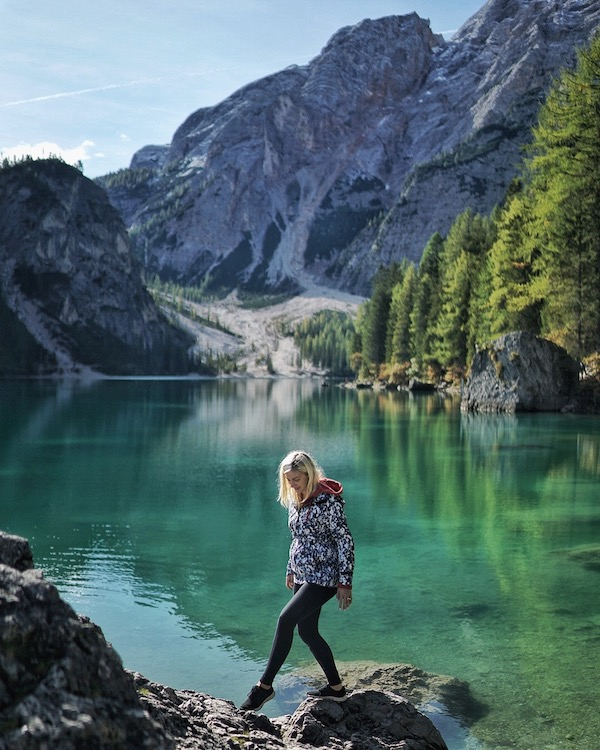 Lago Braies hike